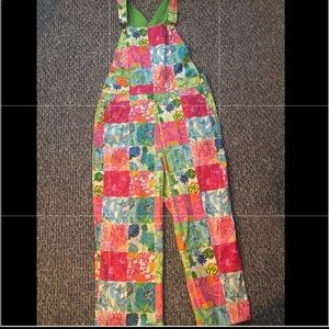 Lilly Pulitzer Vintage overalls